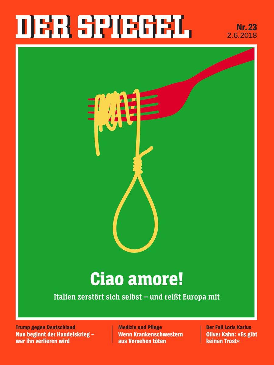 Pasta komi t mats sa lei inni tilveran i for Der spiegel 03 2018