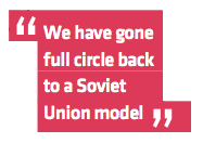Saxo Bank 2014 predictions - We have gone full circle back to a Soviet Union model